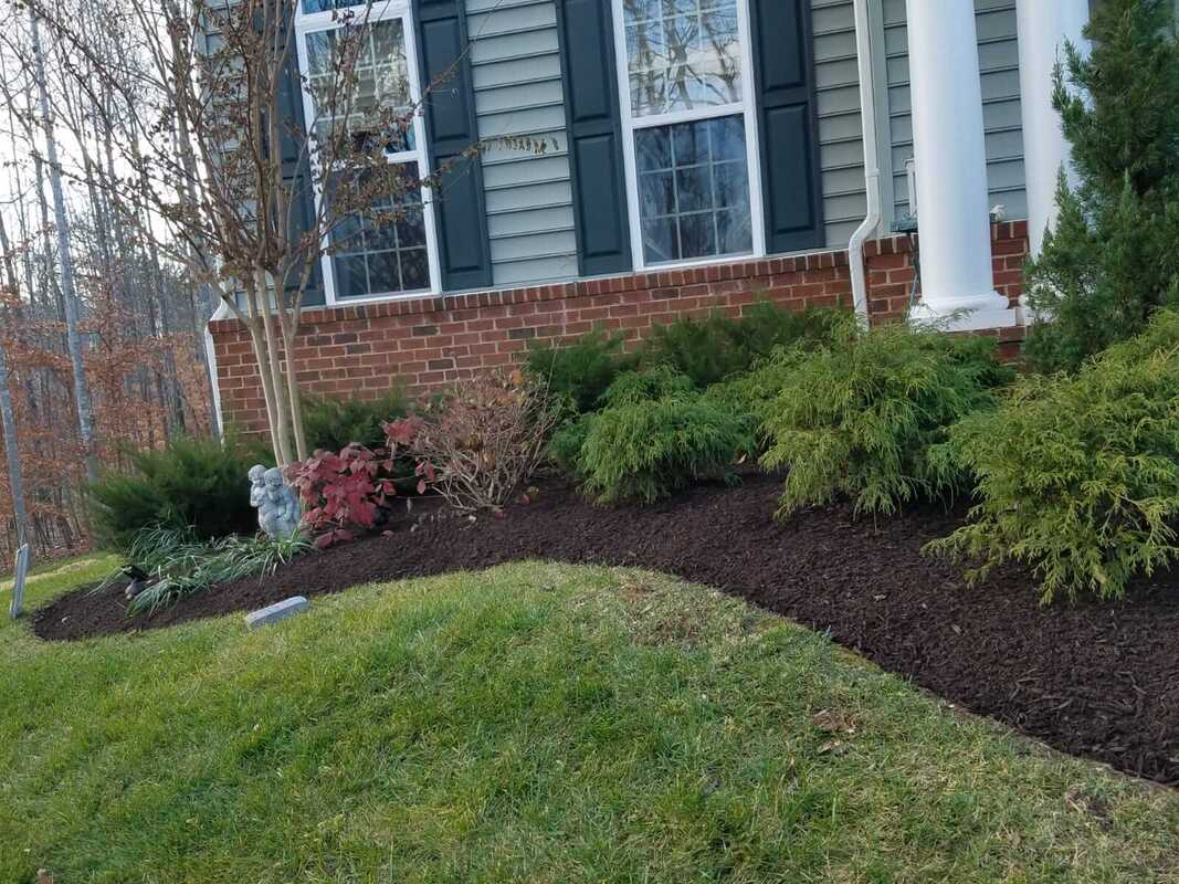 Picture of home landscaping